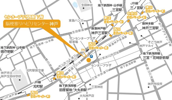Facility Kobe Map