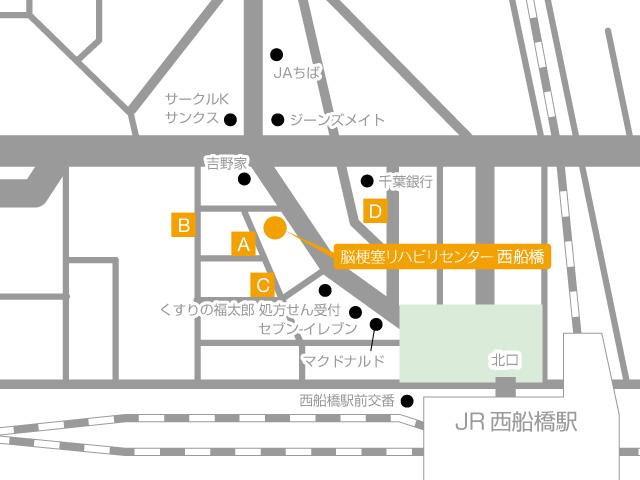 Facility Nishifunabashi Routes 03 Map