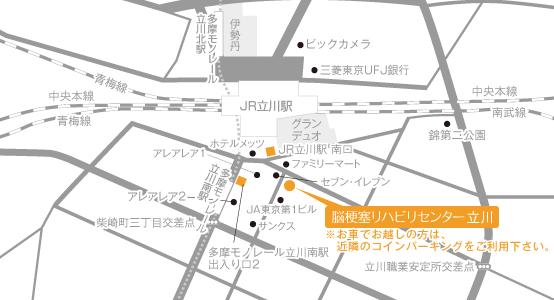 Facility Tachikawa Map