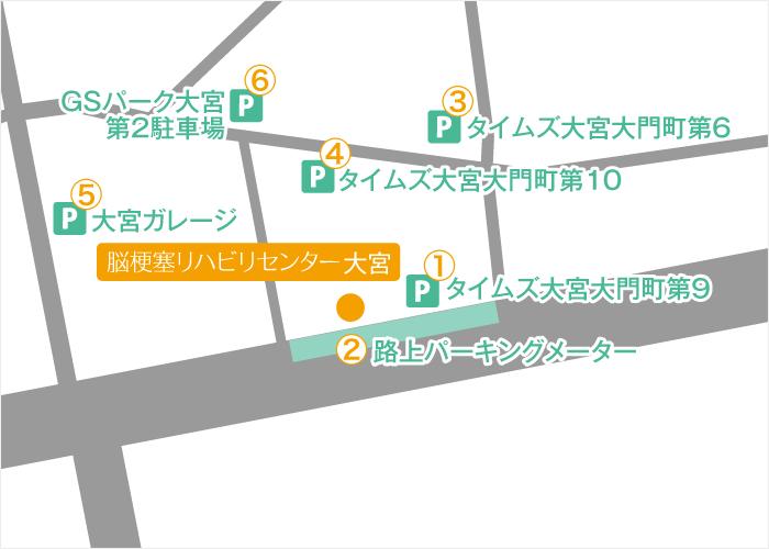 Facility Omiya Routes 03 Map