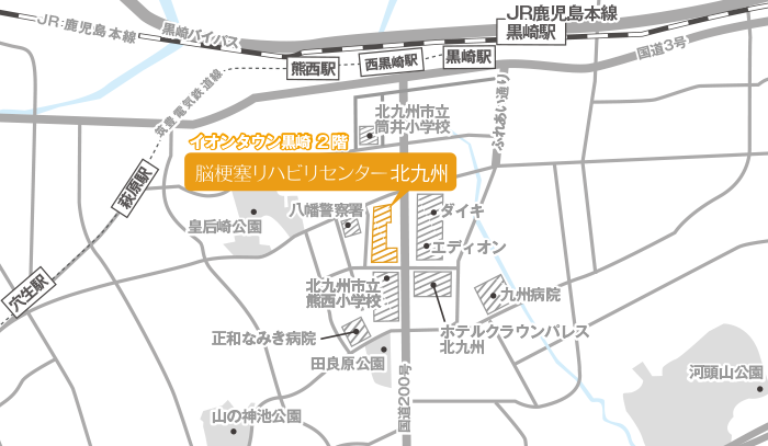Facility Kitakyusyu Map