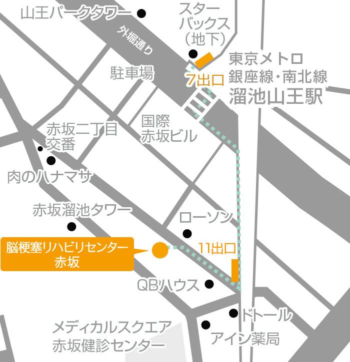 Facility Akasaka Routes 01 Map