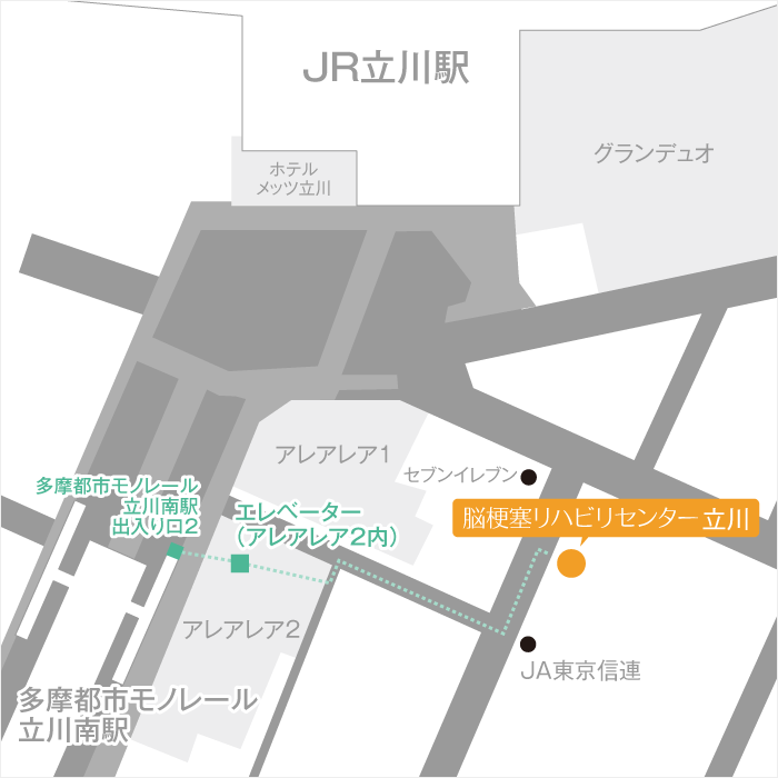 Facility Tachikawa Routes 02 Map