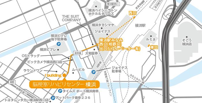 Facility Yokohama Map