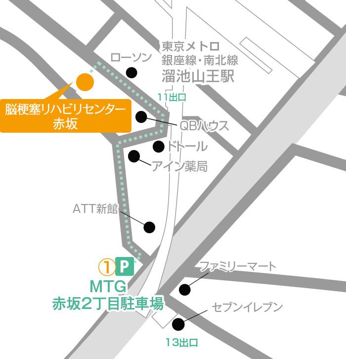 Facility Akasaka Routes 03 Map