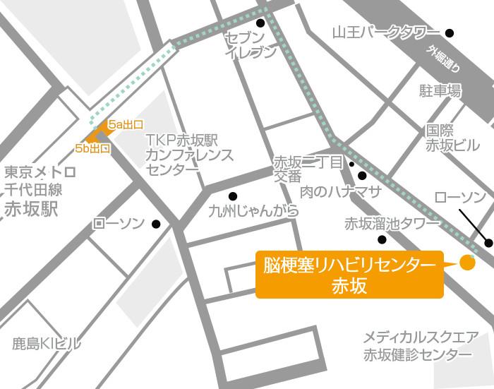 Facility Akasaka Routes 02 Map