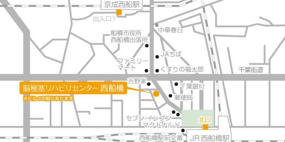 Facility Nishifunabashi Map