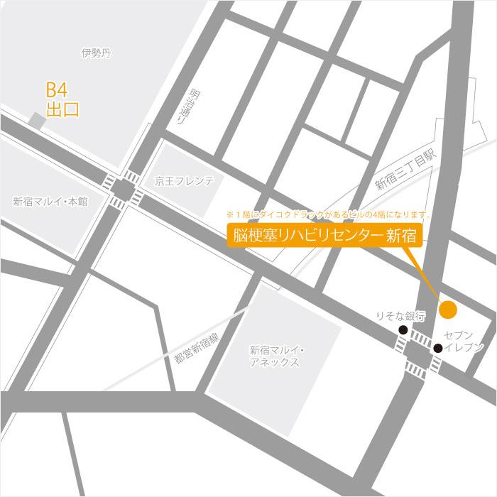 Facility Shinjuku Routes 02 Map