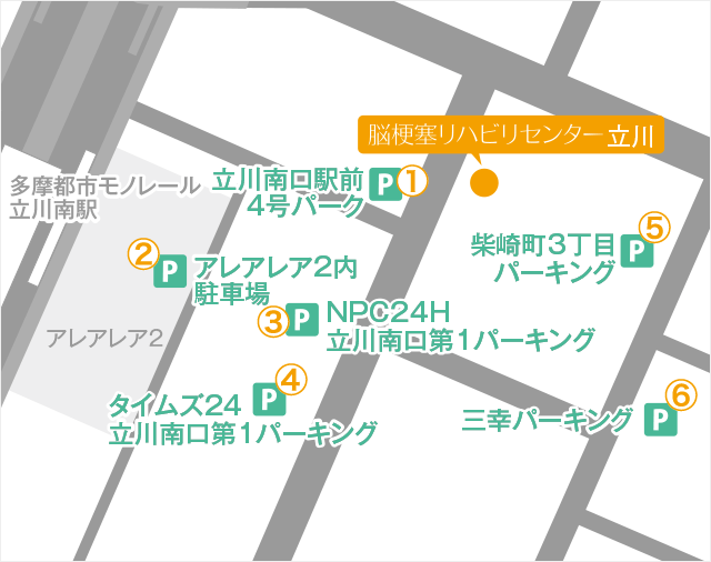 Facility Tachikawa Routes 03 Map